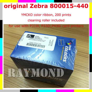 Zebra i Series YMCKO Ribbon 800015-440 - 200 Print for P310i P320i P330i P420i P430i and P520i