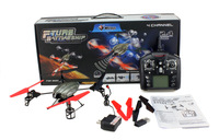 F04812 WLToys V959 4-Axis I/R RC Remote Control UFO Quadcopter Helicopter W/ Camera GYRO Light V929 V939 V949 Upgrade + Freeship