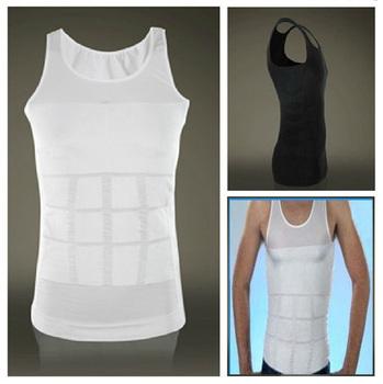 Hot Men Absorbant Underwear Body Shaper Belly Cincher Waist Tights Lose Weight