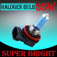 4pcs H8 Super Bright White Fog Halogen Bulb Hight Power 35W Car Head Lamp Light 12V car styling car light source parking