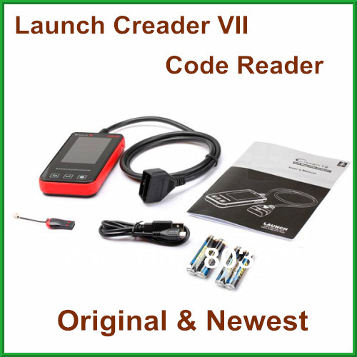 Promotion 2013 Original Creader VII On-Line Update Launch Code Reader Launch Creader 7th(China (Mainland))