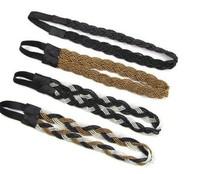 Free shipping,women headband elastic hairband hair girl , women hairbands headbands,  hair hoop, accessories headwear  4pcs/lot