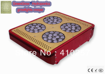Upgraded Apollo P4 - 180W(60*3W) LED hydroponics Lighting - non-dimmable and non-stop working,dropshipping