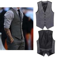 2014 New Brand V-neck Cotton Men Vest Tops/Desgual Spring Summer Vests For Men/Casual Plus Size Coats Men Clothing