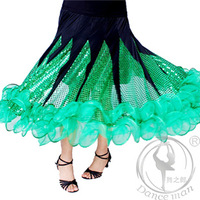 Elegant  And Great Quality Ballroom Skirts For Girls More Colors  MQ1092
