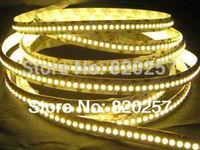free shipping 5m reel 24v 240leds per meter led strip lights with 3528 smd superbright warm white