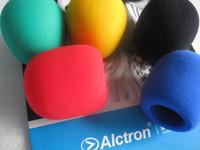 Color windproof hood microphone sponge cover,microphon windscreen,5 color/lot