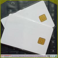 Free shipping  20 pcs/lot  SLE 4428 Chip Blank Card