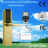 touch screen Remote control door lock with s50 card