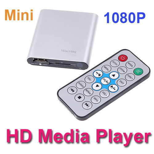 HD Mini Media Player 1080P HDMI SD/USB HD Media Player MKV/RM/RMVB Boxchip F10 chipset Free shipping Wholesale(China (Mainland))