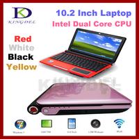 "Brand new 10.2"" Laptop ,Notebook,Intel Atom D2500 1.86Ghz, 2GB RAM&250GB HDD,WiFi,Webcam+Window 7,3 cell LION Battery, 2200mAh"