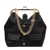 NALULA  2013 vintage personality suit chain shoulder handbags Women messenger women bag DS3003