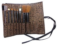 Make-up blush brush loose powder brush make-up cosmetic brush set piece set exquisite bags color    RS008