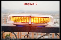 Brand 240 LED Car Roof Flashing Strobe Emergency Light Amber Waterproof New