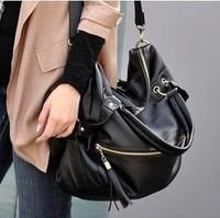 Bags 2014 fashion female fashion rivet shoulder bag messenger bag fashion bags hot women's handbag