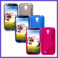 Galaxy S4 New S Line Soft TPU Gel Case For Samsung Galaxy S4 I9500 100xcase+100xsceen film