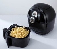 OEM Multifunctional manual  Deep Fryer 360 degree high speed hot air circulation technology