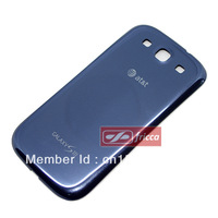 New OEM Battery Door Back Cover For Samsung Galaxy S3 III AT&T i747 Pebble Blue