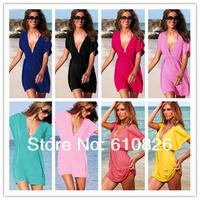 Free shipping 8 pcs/lot women bikini cover ups bikini Wrap skirt lady swim suit sexy beach essential brand Victoria Mantillas