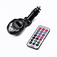 Free shipping Car kit MP3 Foldable FM Transmitter for SD/MMC/USB/CD 02 #8098