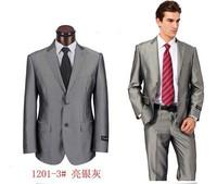 free shipping 2013 new style mens slim suit  wedding suit  for men business men dress suit boss suit for men coat+pants S-4XL