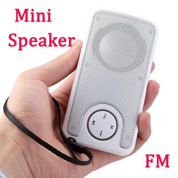 Portable Mini Speaker USB Disk SD / MMC Music Player FM  Free / Drop Shipping wholesale