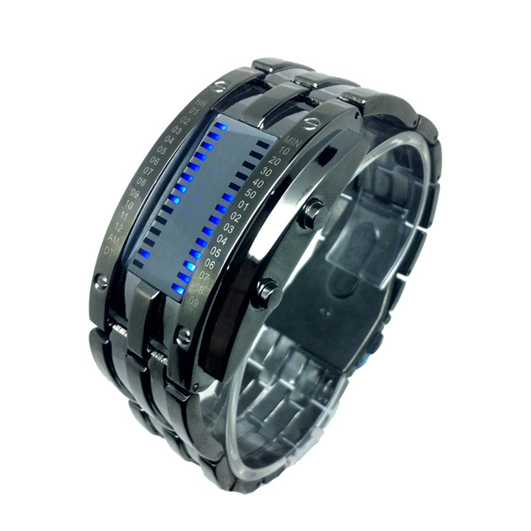 Brand men's watches authentic led waterproof electronic style restoring ancient ways is han edition men 's fashion watch(China (Mainland))