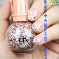 Free shippin 2013 Spring Nail Beauty Snowflake nail polish Varnish 6pcs/lot