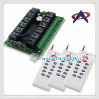 New 12V 12 CH  RF Wireless Remote Control Switch system Wholesale prices with 12 Buttons transmitter