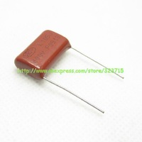 50pcs/lot  P20mm 400V105J 1uF 105J400V CBB film capacitors Free Shipping