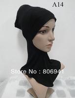 H017 comfortable full muslim underscarf,ninja underscarf