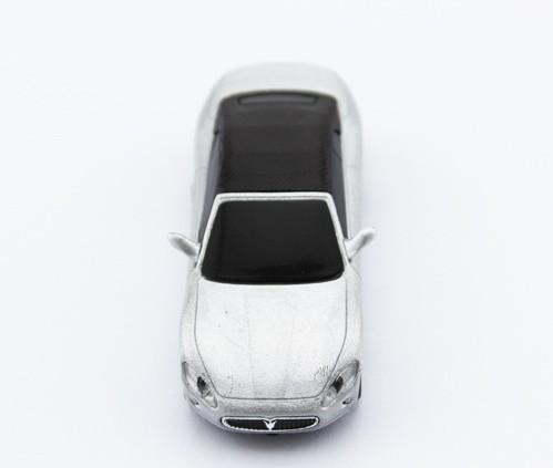 Free shipping 1pc/lot promote Gift Maserati white car shape usb flash drive 1GB 2GB 4GB 8GB 16GB usb key ( Free packing )(China (Mainland))