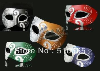 free shipping party supplies pvc painting Masquerade baron masks,hot