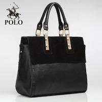 Promotion Newly WEIDIPOLO brand Composite genuine Leather women handbag fashion designer totes shoulder messenger bag freeship