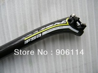 2013 FSAa F0RCE Green 3k full carbon fibre bicycle  seatpost bike seat post 27.2/30.8/31.6*350mm