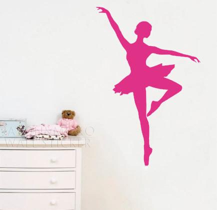 Ballerina mural reviews online shopping reviews on for Ballerina wall mural