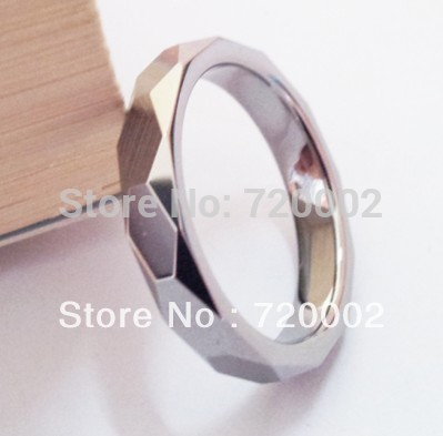 Free Shipping Hot Sale Fashion Tungsten Steel Ring Unisex Finger Ring Polish & Brush Crafts Item TF-041(China (Mainland))