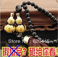 Free Shipping ! Double gourd transhipped jushi lucky accessories car pendant