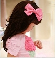 FREE SHIPPING 2014 Sell good Bowknot  hairgrips hairpin hair clip kids children girlhair accssories,