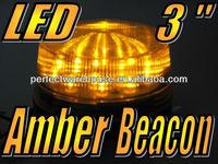 Amber Flashing LED rotating beacon warning flash lights 24V Free Shipping!!!