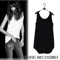 New Womens Summer Street Loose Vest Modal Cotton 7 colors Free Shipping