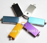 Metal Swivel USB Flash  Drive 1GB 2GB 4GB 8GB 16GB 32GB thumb stick assorted colors for choices