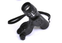 A105. Flashlight Mount Holder,,Rubber bicycle  lamp holder,free shipping 10/pcs