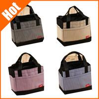 new Square bag drawstring lunch bag for women beam port lunch box lady handbag 22*13*19cm