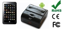 High-performance 3inch Handheld Printer for Parking citation with Bluetooth/USB/Infrared/RS232 compatible with Android