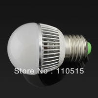 New!Low price free shipping LED Lamps E27  led bulb  e27 Cool/Warm white e 27 ledlight