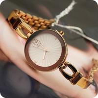 White collar elegant watches fashion bracelet watch ladies watch