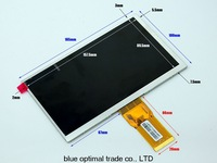 free shipping 7-inch screen for cube U25GT tablet PC internal screen display  LCD 1024*600 HD