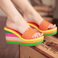 Fashion sweet platform women shoes,women sandals women,size 33-41