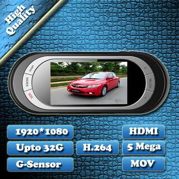 Freeshipping 100% H.264 Full HD 1920 x 1080P 25FPS Car DVR Recorder Video Black Box L5000 2.7Inch 140 Degree G-Sensor